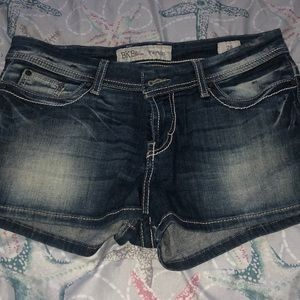 Denim shorts buckle BKE Payton